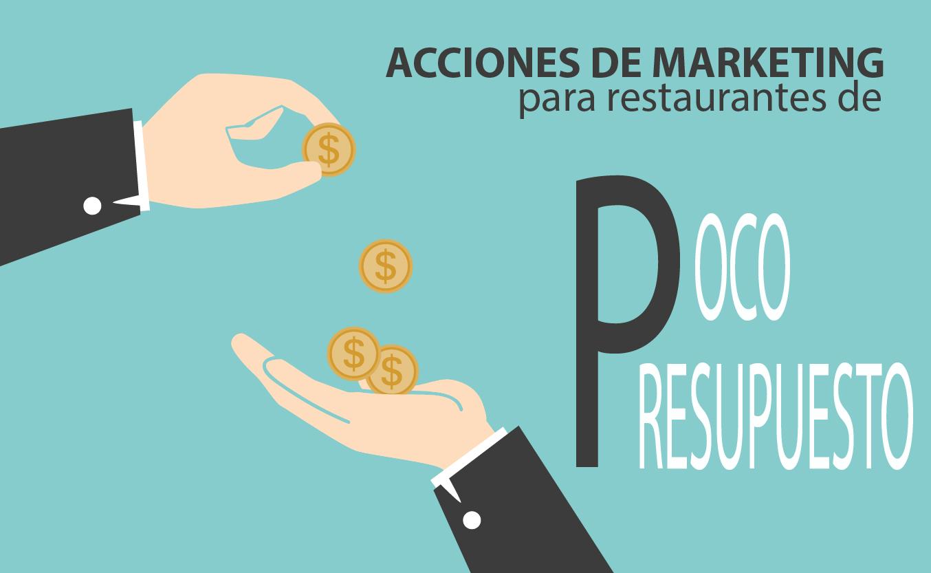 marketing para restaurantes de poco presupuesto