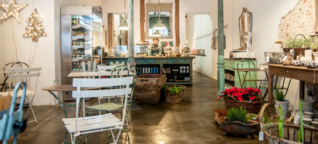 Restaurantes con estilo vintage - Il Tavolo Verde