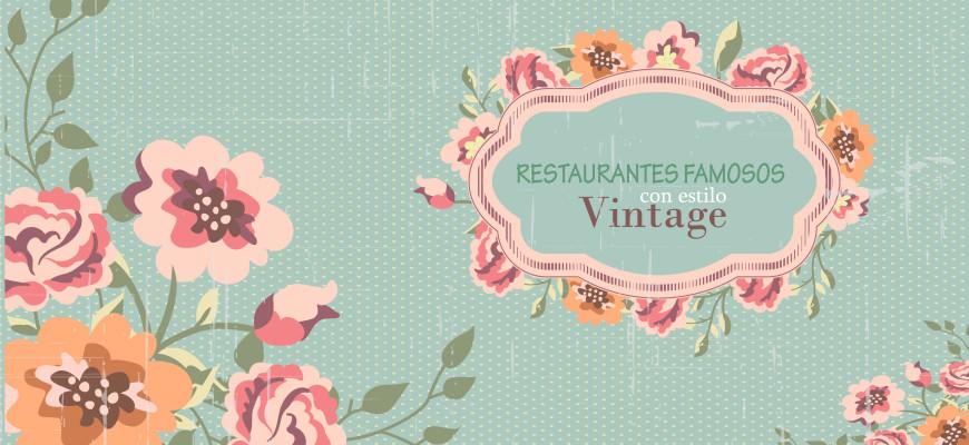 restaurantes con estilo vintage