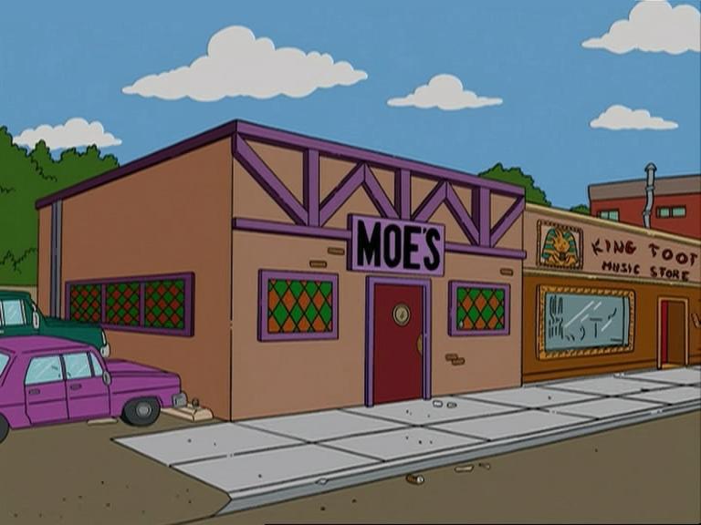 restaurantes famosos - bar de Moe