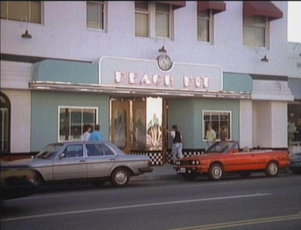 restaurantes famosos - Peach Pit