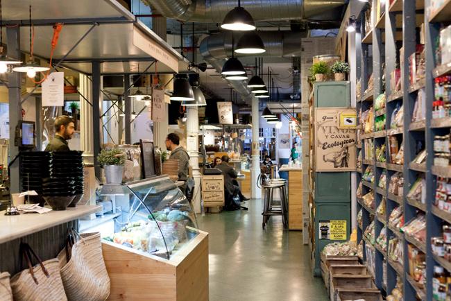 restaurantes con estilo vintage - WOKI