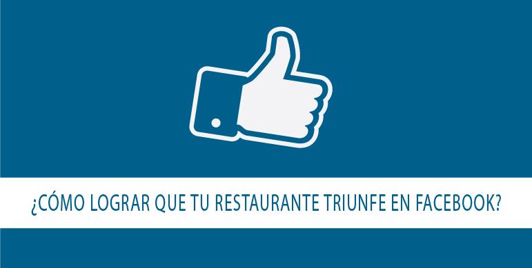 restaurante en Facebook triunfe