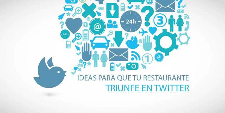 restaurante en twitter