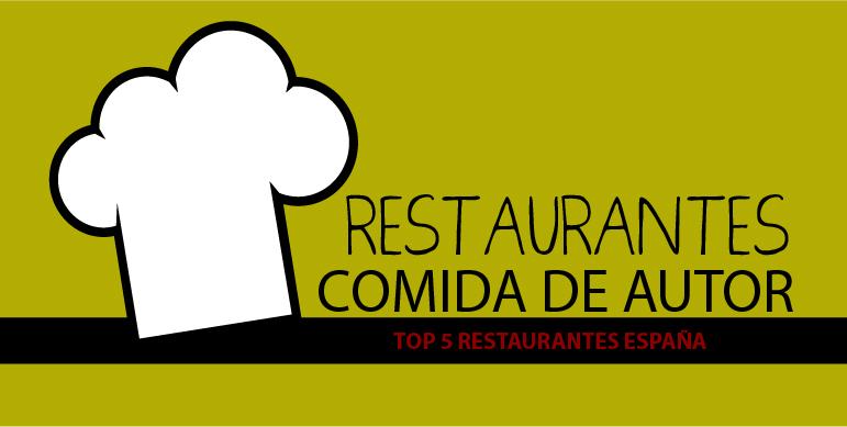 restaurante de comida de autor en España