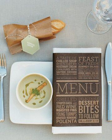 ejemplos de carta de restaurantes